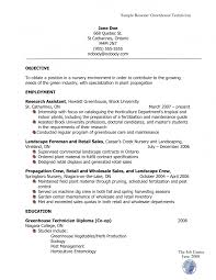 retail sales sample resume best ideas of horticulturist sample resume for summary sample ideas collection horticulturist sample resume with template