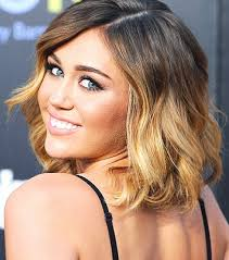 how to style miley cyrus hairstyle miley cyrus hairstyles ombre medium waves pretty designs