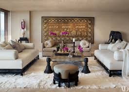Elephant Decor For Living Room by Cher U0027s Los Angeles High Rise Features Decor From Around The World