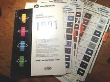 dupont color chip book ebay