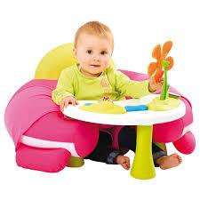 siege gonflable smoby table d activités cosy seat smoby king jouet activités d