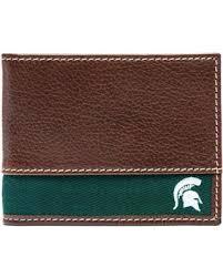 alumni wallet big deal on michigan state alumni leather