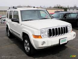 2007 stone white jeep commander limited 4x4 30817030 gtcarlot