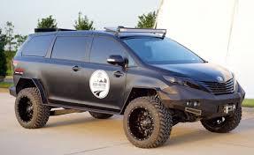 Retread Off Road Tires It Doesn U0027t Look Mini Anymore Toyota Builds An All Terrain Minivan
