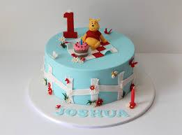 winnie the pooh cakes winnie the pooh cake winnie the pooh themed 1st birthday c flickr