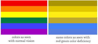 Red Green Color Blind Simulator The Best Of Teacher Entrepreneurs Being Colour Blind What Is It