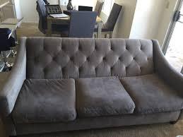 chloe velvet tufted sofa chloe velvet tufted sofa set in granite from macy s furniture in