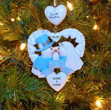 personalized our 1st family tree ornament
