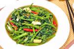 Stir Fry Water Spinach - Pad Pak Bung Fai Daeng ผัดผักบุ้งไฟแดง ...
