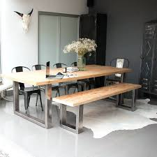 Triangle Dining Room Table Dining Table And Bench Set Ebay Dining Table With Bench Seat And