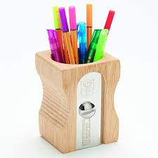Office Desk Tidy Buy Wooden Pencil Sharpener Desk Tidy Tts International