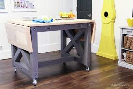 kitchen islands on casters budget board and batten kitchen island makeover
