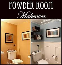 powder room makeover flashback friday tiny bathrooms powder
