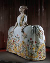 wedding dress costume 18th century costume archives embroidered wedding gown