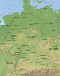 Aachen Germany Map by Maps Of Germany Bizbilla Com