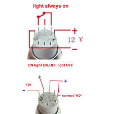 12 volt push button light switch 12v 16mm blue led push button metal on off switch power symbol angel