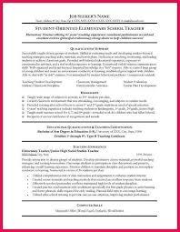 Resume Help For Teachers Resume For Teaching Position Sop Examples