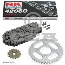 chain set peugeot xps 50 type super motard 04 05 chain rk 420