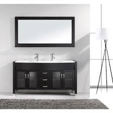 virtu usa md 499 s es modern 63 inch double sink bathroom vanity