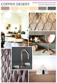 decorations carolinececiltextiles trend inspiration copper