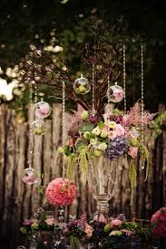 simple christmas wedding centerpieces floating candles