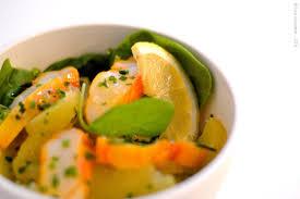 cuisiner le haddock fumé salade de pommes de terre et haddock fumé les gourmandises de léa