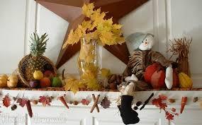 thanksgiving mantle hoosier