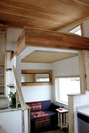 Tiny House Living Room by Leaf House Yukon Canada Living Room Under Clever Open Loft