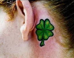 four leaf clover tattoos page 3