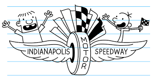 diary of a wimpy kid coloring pages calling all diary of a wimpy kid race indianapolis motor
