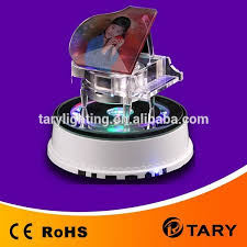 Led Light Base For Centerpieces by Crystal Led Light Base For Display Piano With Mp3 Music Round Led