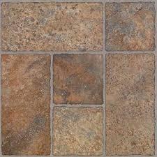 trafficmaster beige slate 12 in x 12 in solid vinyl tile 30 sq