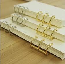 metal binder rings images A5 a6 3 ring loose leaf binder spiral notebook metal clip ring jpg