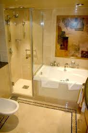 small spa bathroom ideas simple corner tub shower combo in small bathroom corner tub tub