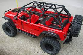 rubicon jeep red top 5 photos of the axial scx10 jeep wrangler rubicon u2013 bartsworkshop