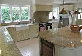 outdoor kitchen backsplash granite countertop standard height wall cabinets kenwood for