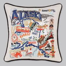 Alaska travel pillows images 50 best pillows u s states images embroidered jpg