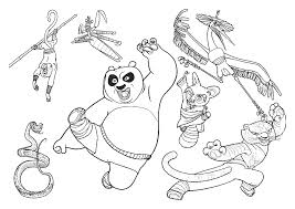 kung fu panda 2 coloring pages free coloring pages printables