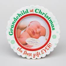 grandchild christmas photo ornament