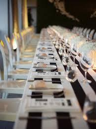 black and white table settings 58 elegant black and white wedding table settings happywedd com