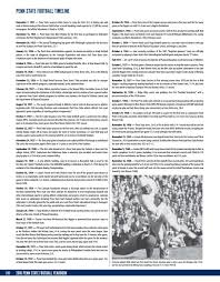 what football teams play on thanksgiving day 2016 penn state football yearbook by penn state athletics issuu