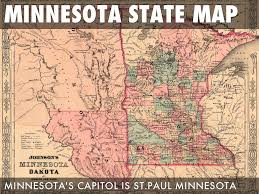 Minnesota State Map Get To Know Mn By Dylan Andersen