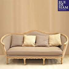 mousse polyuréthane canapé canapé 215cm style gustavien home ottomans and shabby