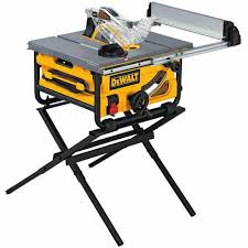 dewalt jobsite table saw accessories dewalt dw745s 15 amp corded 10 in compact job site table saw with