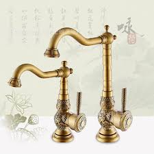 free shipping deck mounted brass kitchen faucet with high quality