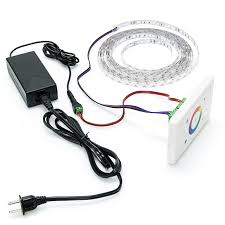 rgb led light controller wall mount touch color rgb controller dynamic color changing modes
