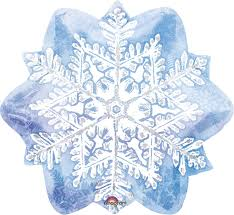 snowflake balloons let it snow snowflake foil balloon birthdayexpress