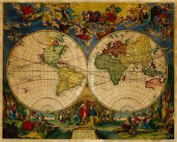Us World Map by World 1683 Novissima Totius Terrarum Ram Antique Map I