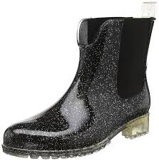 buy boots trendy black color leather boots tamaris tamaris s 25445 chelsea boots black black silver 090black