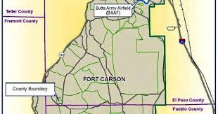 fort carson map fort carson co pcsing moving to colorado springs map email me